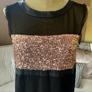 RACHEL Rachel Roy Dresses - •RACHEL Rachel Roy• Sequin/Faux Fur Dress